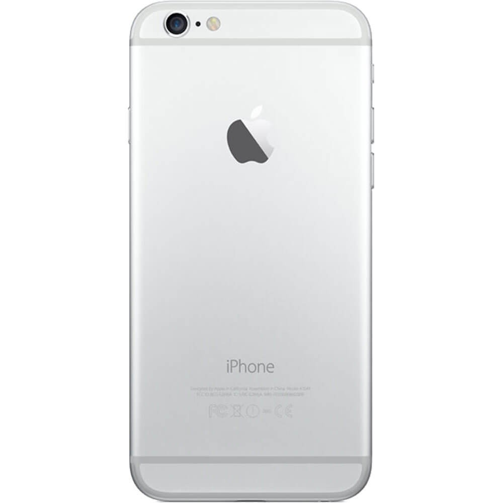 Apple iPhone 6 64Go Argent - Dos