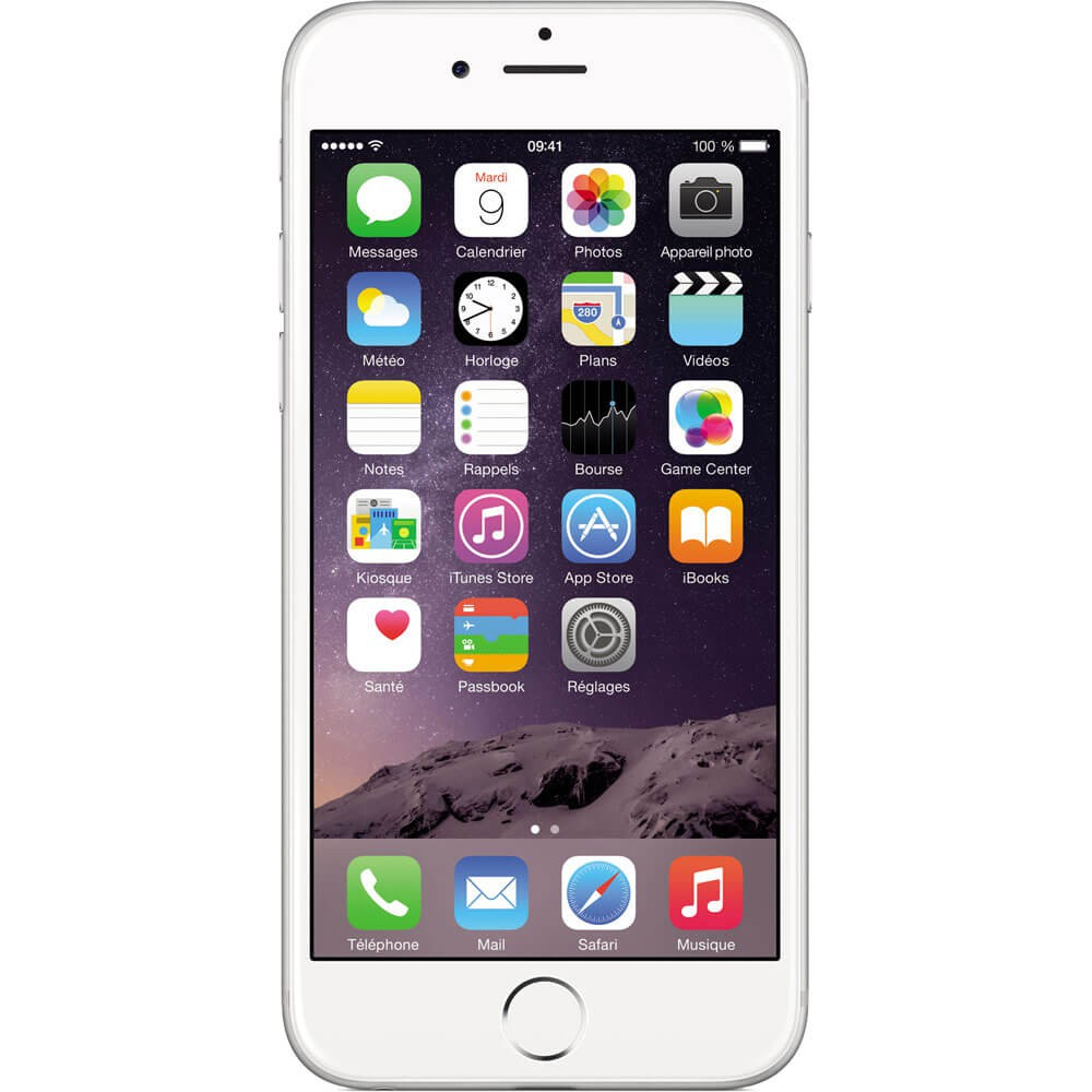 Apple iPhone 6 64Go Argent - Face