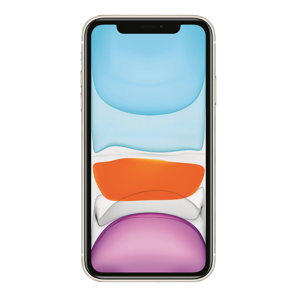Apple IPhone 11 Blanc 128Go face