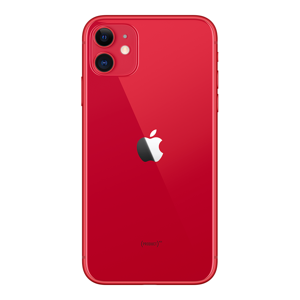 Apple IPhone 11 Rouge 256Go dos