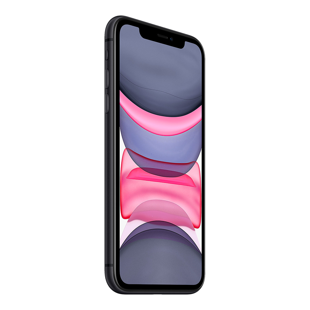 Apple IPhone 11 Noir 64Go profil