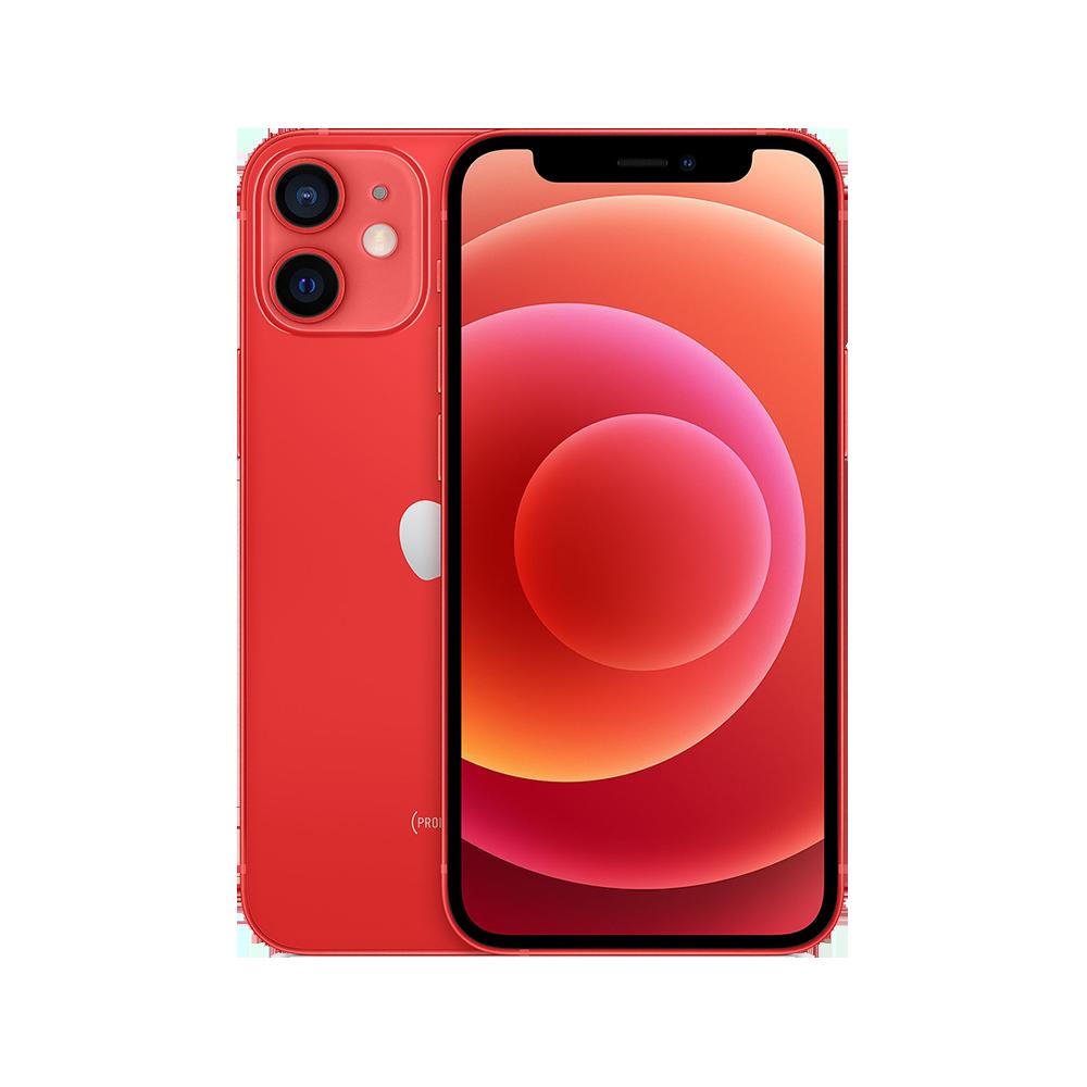 Apple-iPhone-12-mini-128go-rouge-face