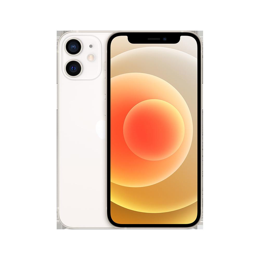 Apple-iPhone-12-mini-256go-blanc-face