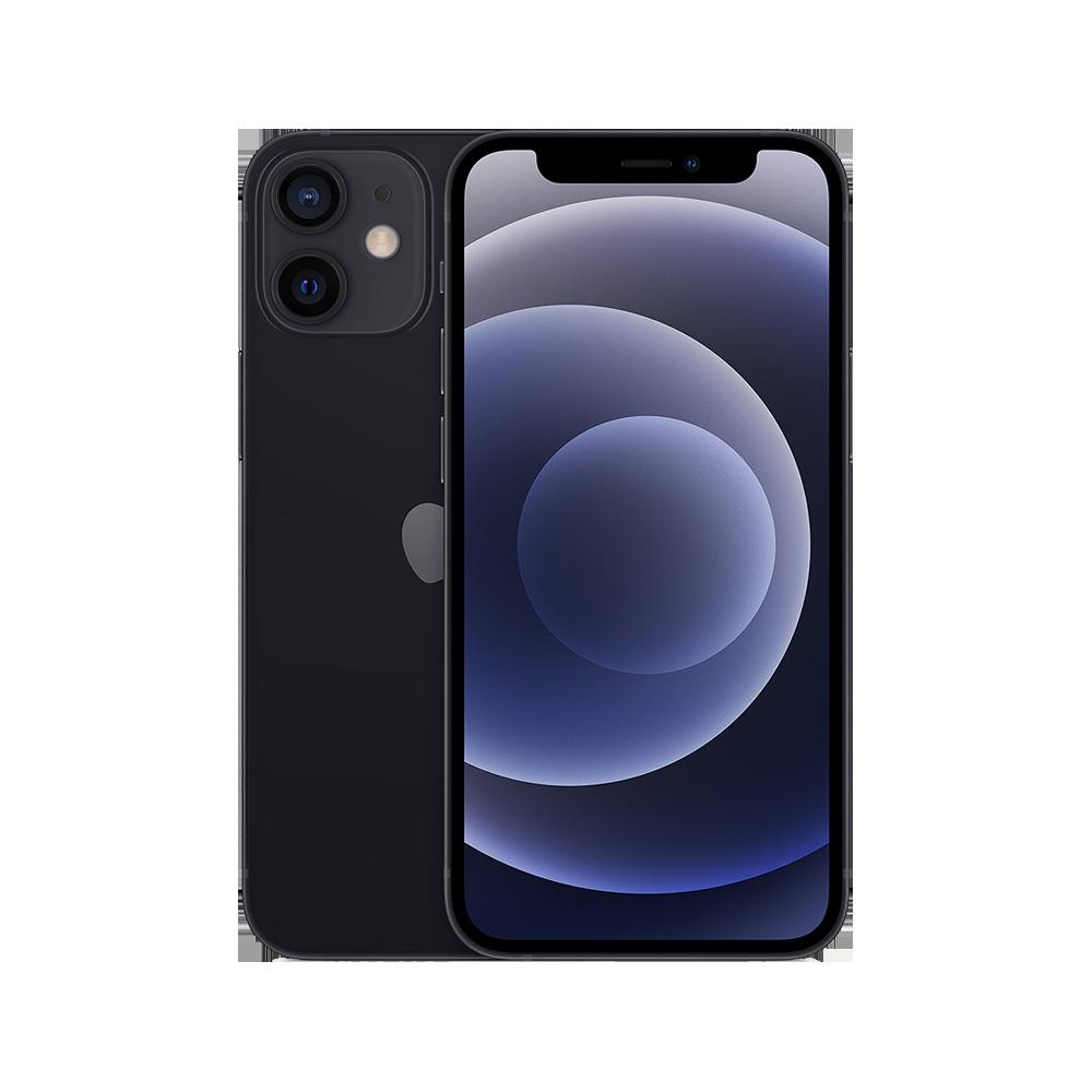 Apple-iPhone-12-mini-64go-noir-face