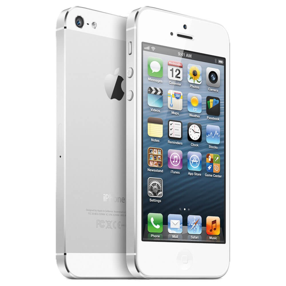apple iphone 5 blanc 64go reconditionn coriolis t l com. Black Bedroom Furniture Sets. Home Design Ideas