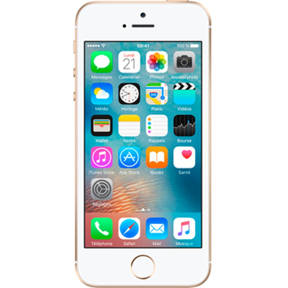 Apple iPhone 5S 16Go Or - reconditionné - face