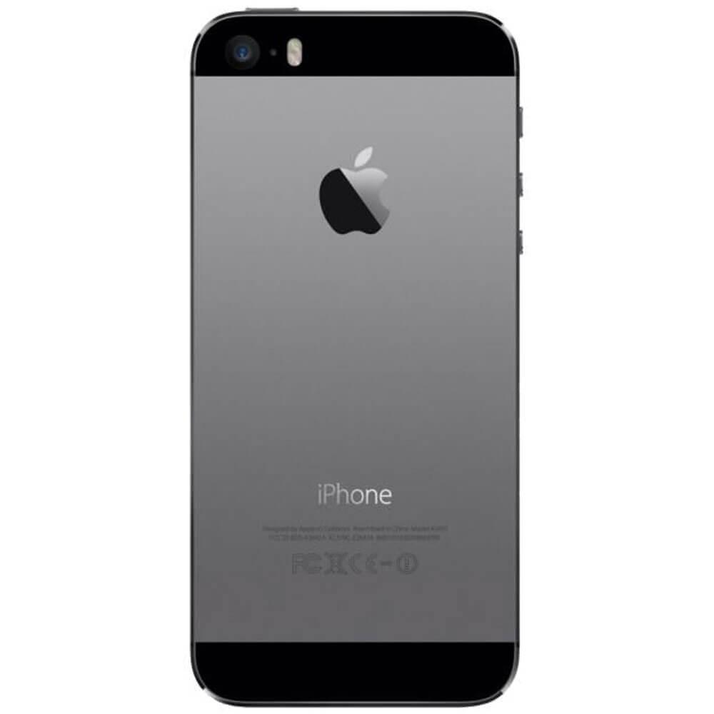 Apple iPhone 5S 16Go Gris Sidéral - Dos