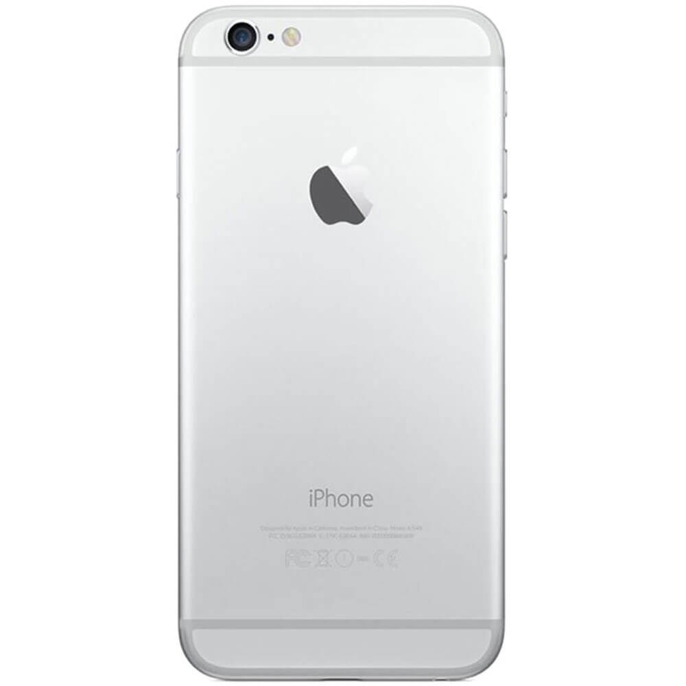 Apple Iphone 6 16Go Argent - Dos