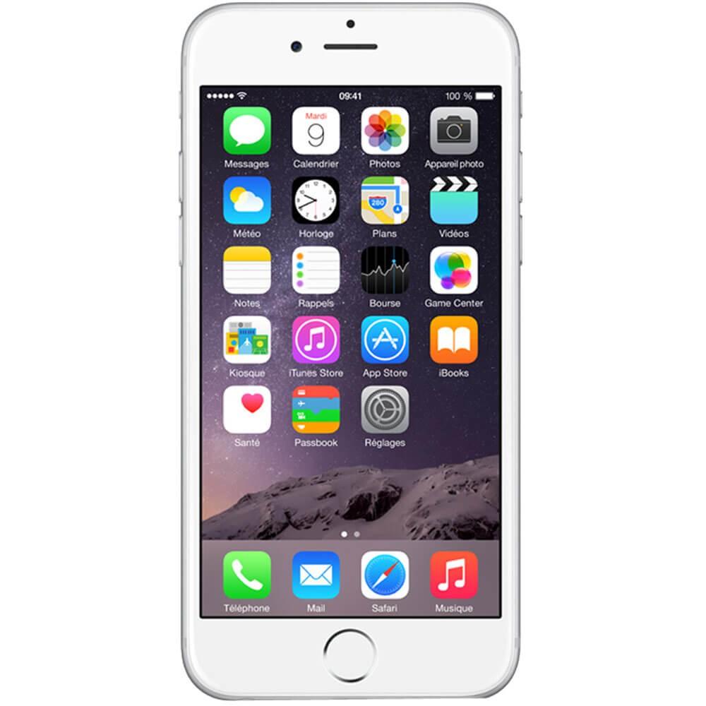 Apple Iphone 6 16Go Argent - Face