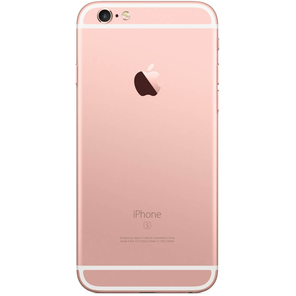 Apple iPhone 6S 32Go Or Rose - Dos