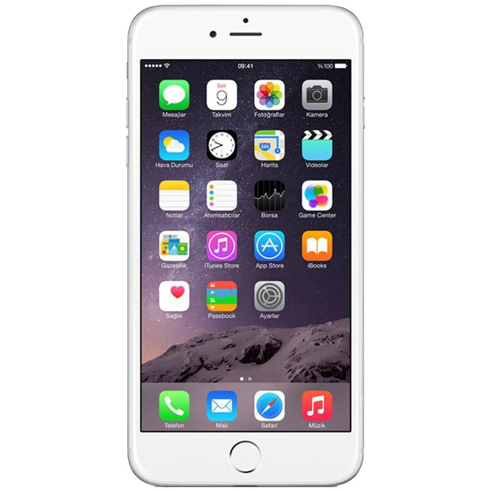 Apple iPhone 6s Plus 128Go-argent- Face