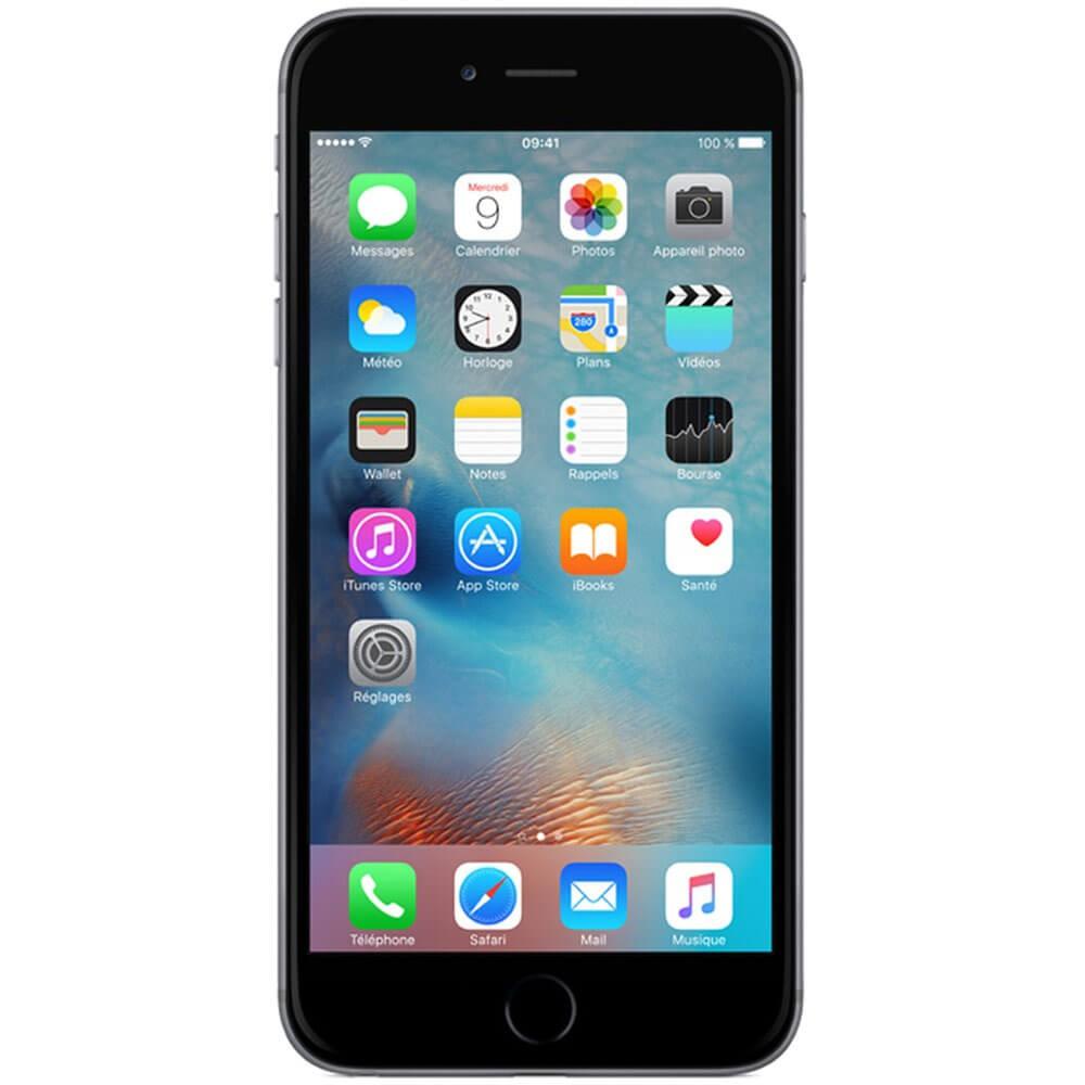 Apple iPhone 6S Plus 128Go Gris Sidéral - Face