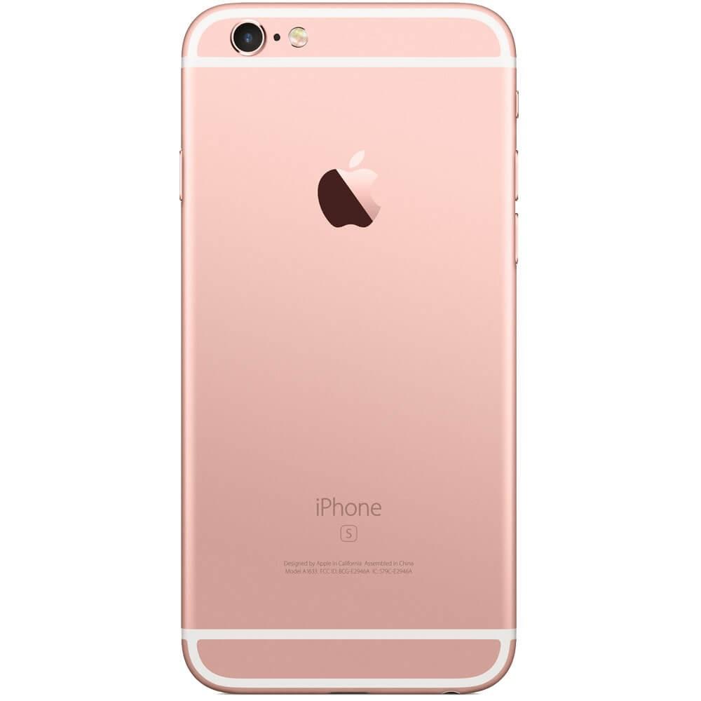 Apple iPhone 6S Plus 32Go Or Rose - Dos