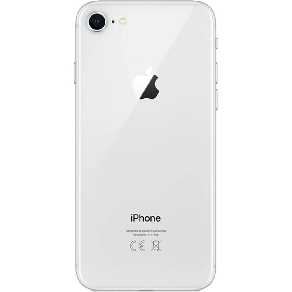 Apple iPhone 8 256Go Argent - Dos