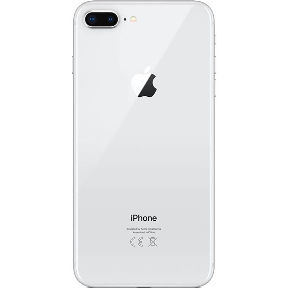 Apple iPhone 8 Plus 256Go Argent - Dos