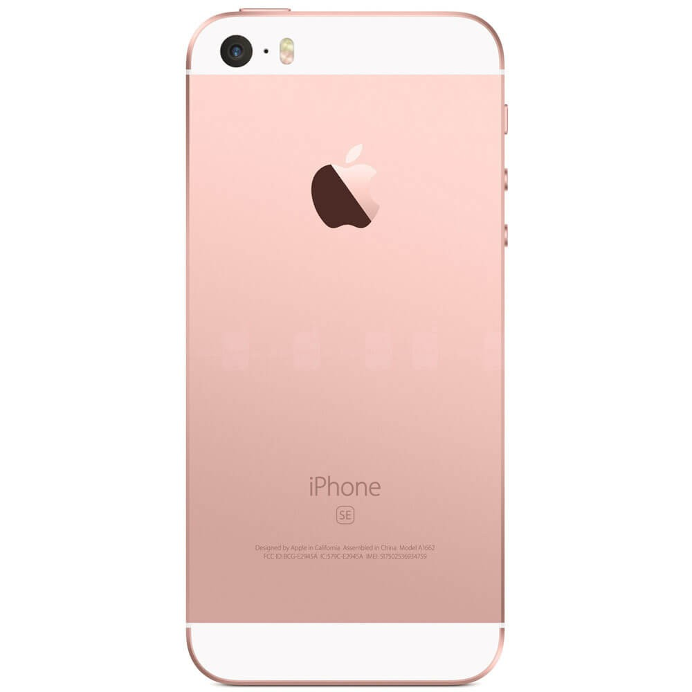 Apple iPhone SE 32Go Rose - dos