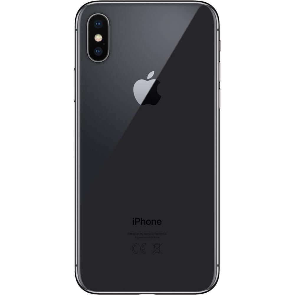 Apple iPhone X 64Go Gris Sidéral - Dos