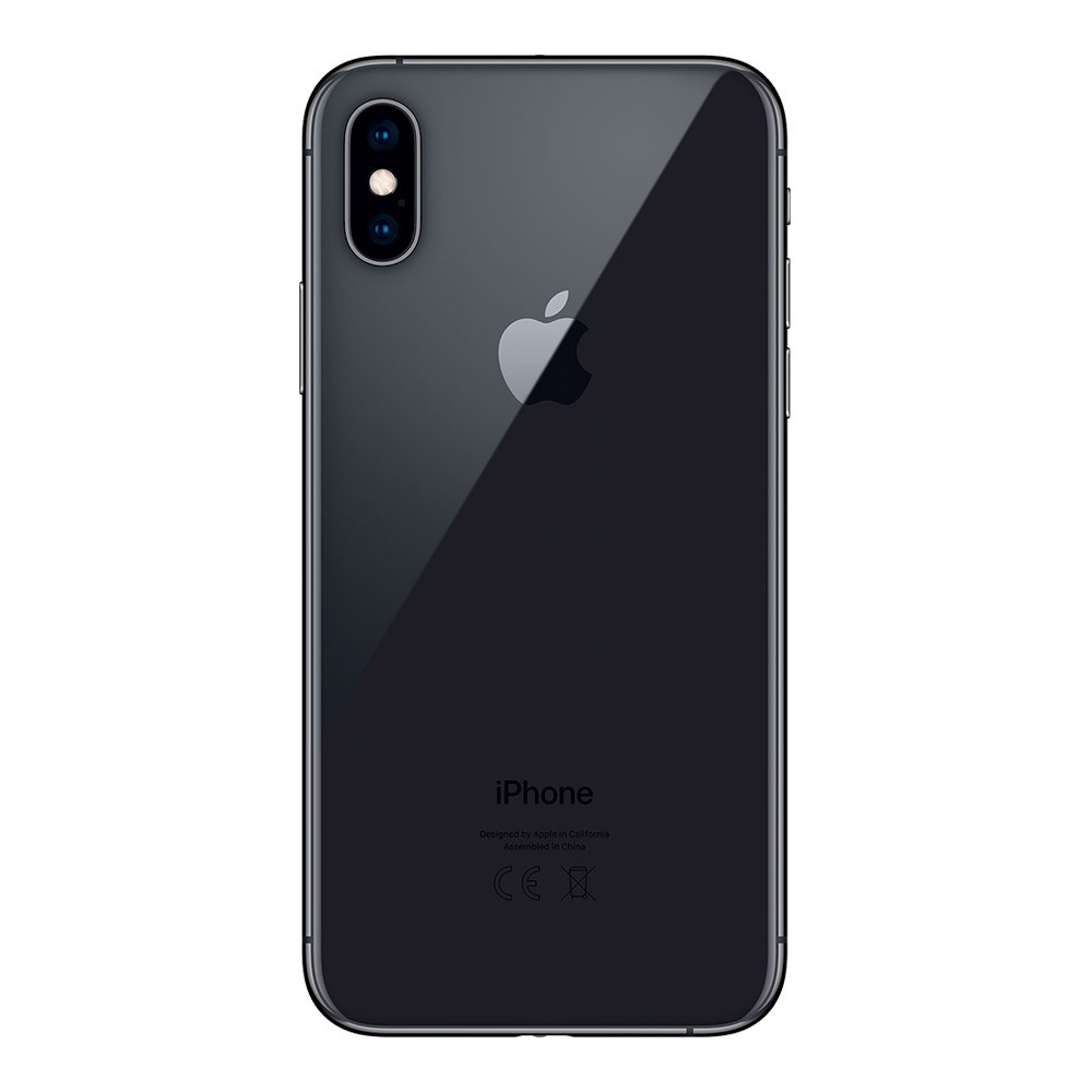 Apple-iPhone-XS-64Go-Gris-dos