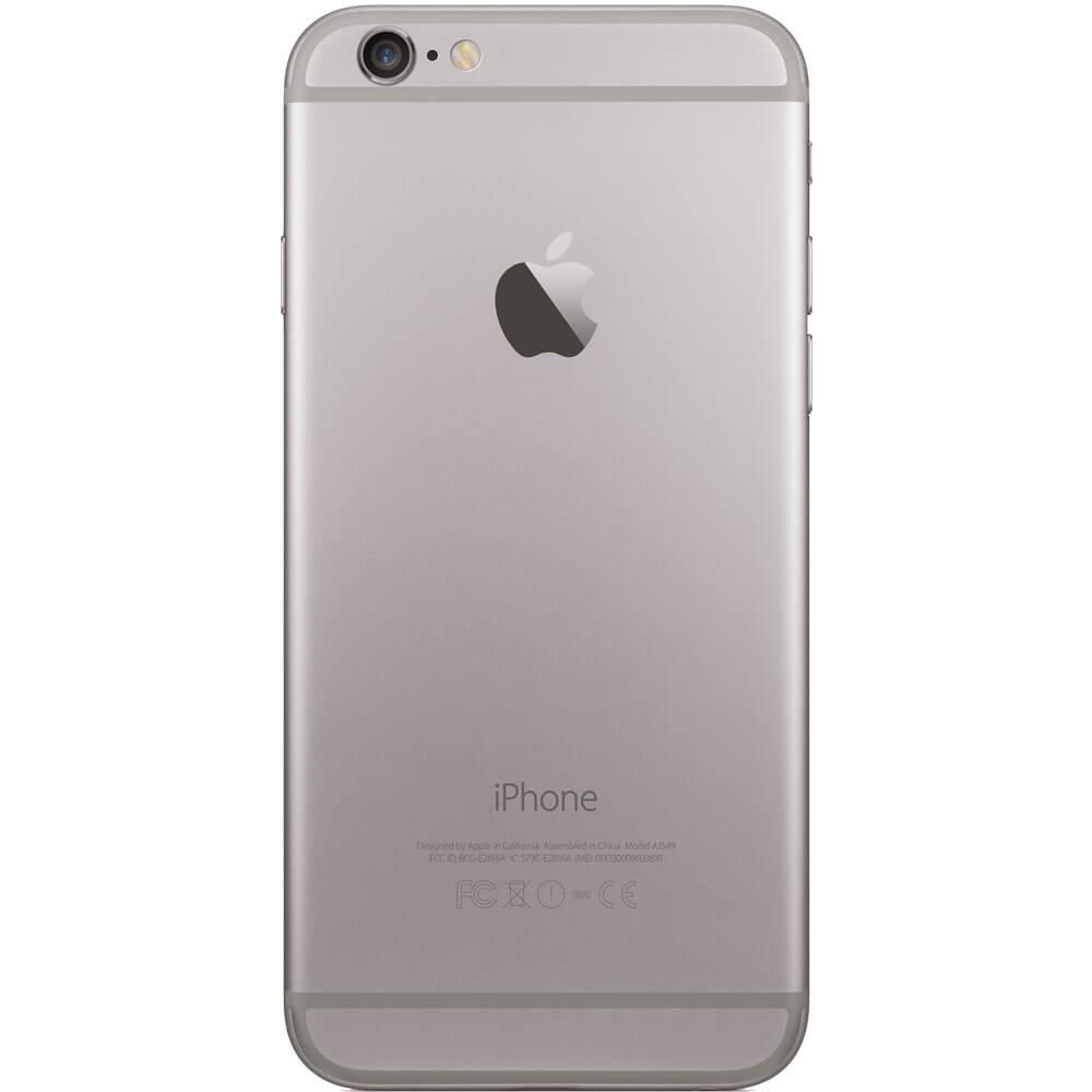 Apple iPhone 6S 128Go Gris Sidéral - Dos