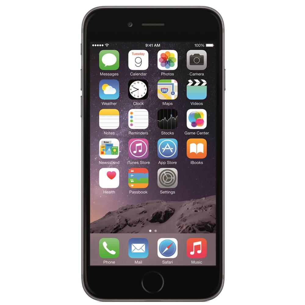 Apple iPhone 6S 128Go Gris Sidéral - Face