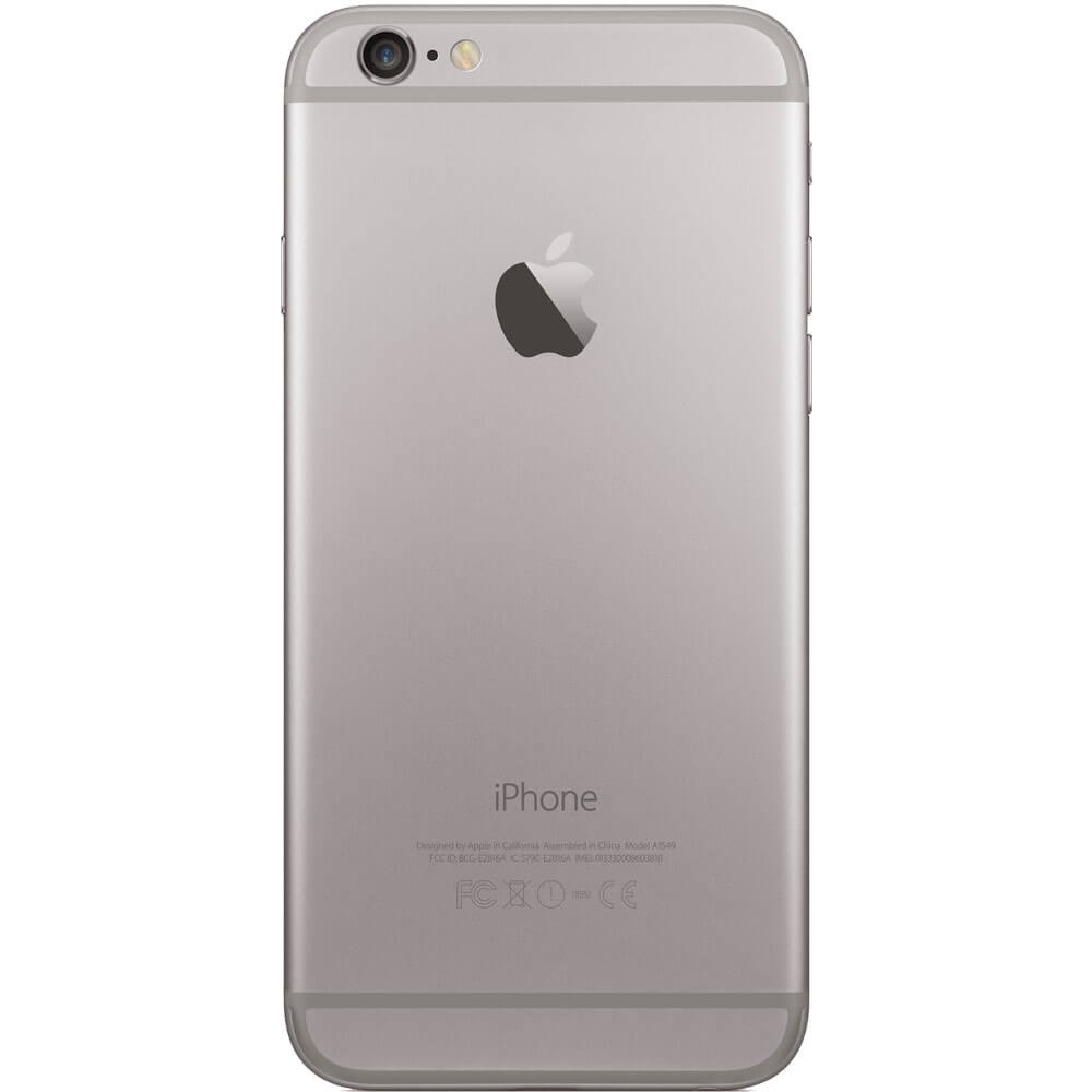 Apple iPhone 6S 16Go Gris Sidéral-Dos