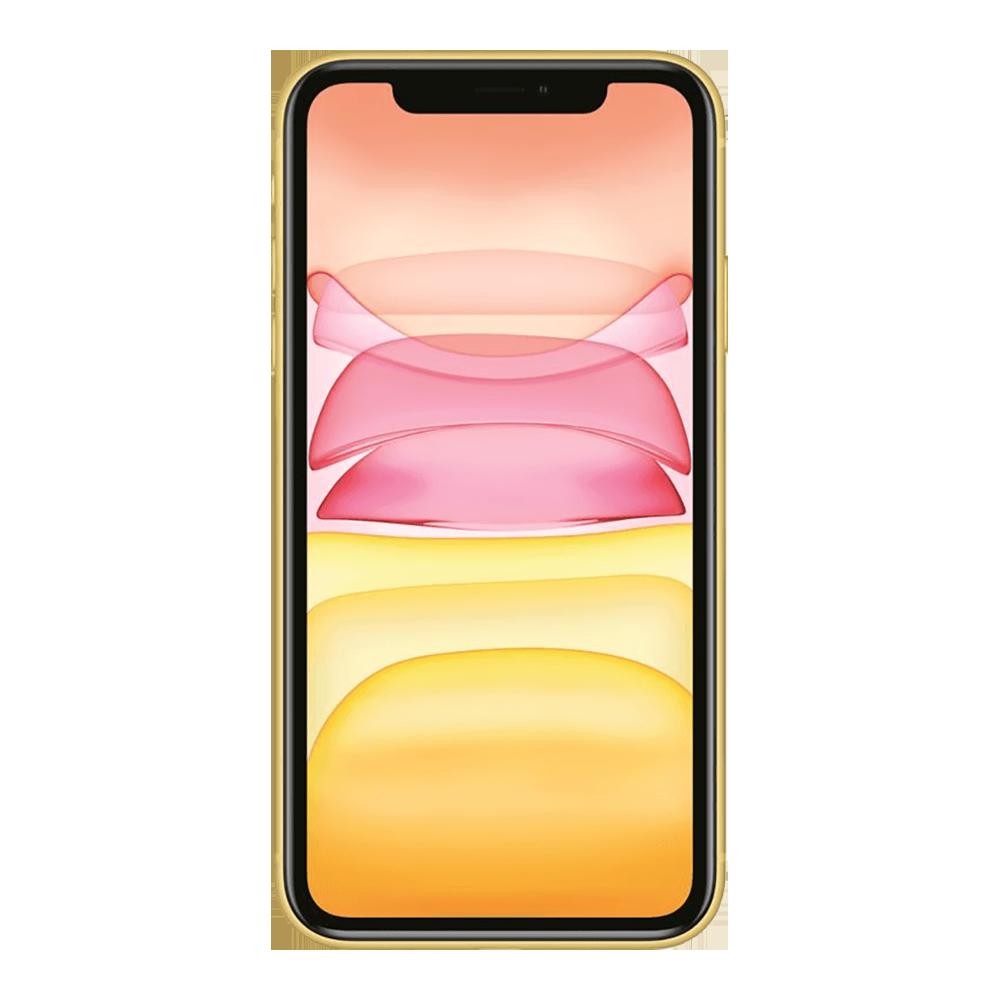 Apple IPhone 11 Jaune 64Go face