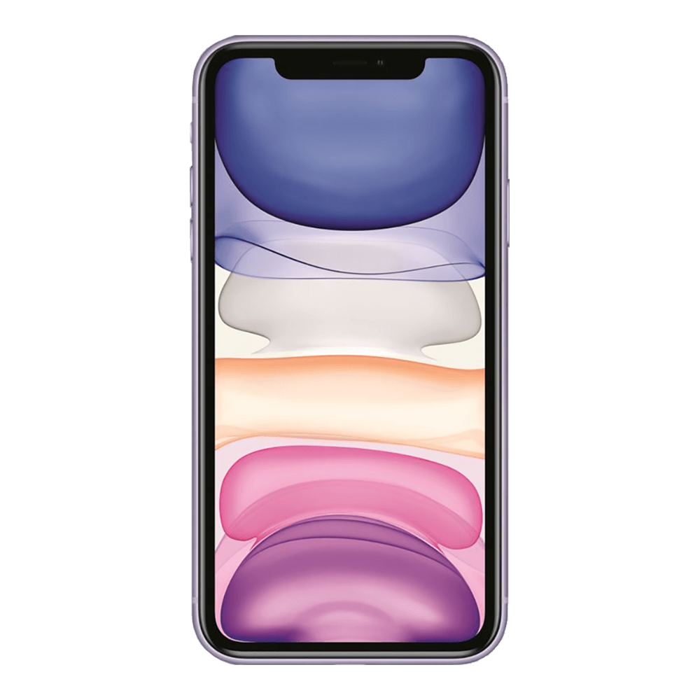 Apple IPhone 11 Mauve 64Go face
