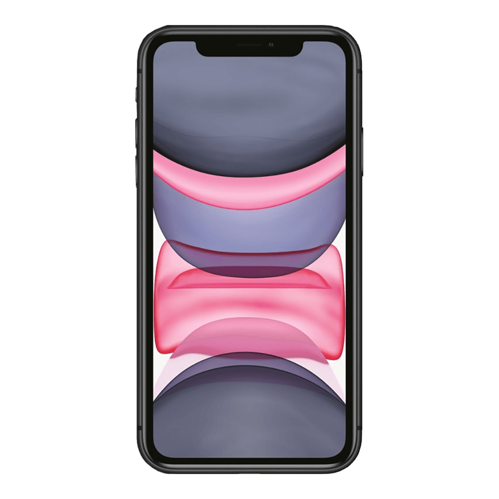 Apple IPhone 11 Noir 64Go face