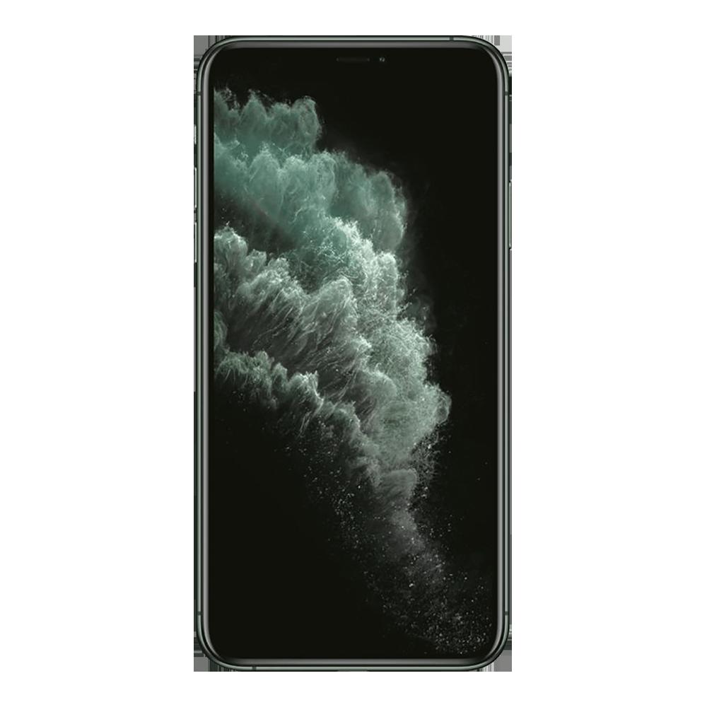 Apple IPhone 11 Pro Max Vert Nuit 64Go face