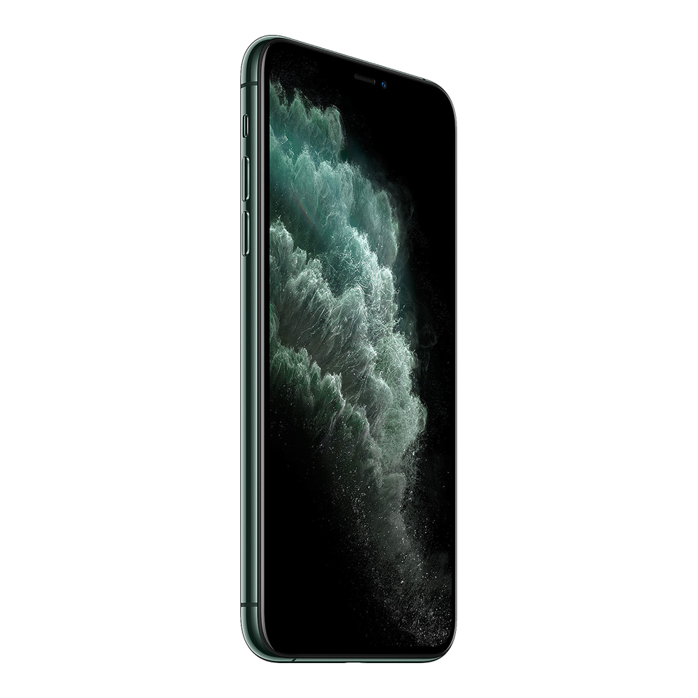Apple IPhone 11 Pro Max Vert Nuit 512Go profil