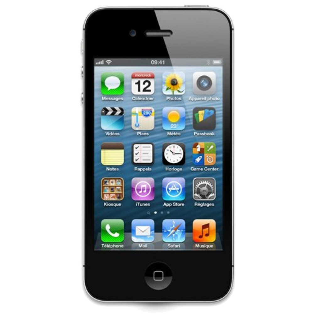 apple iphone 4s noir 16go reconditionn coriolis telecom. Black Bedroom Furniture Sets. Home Design Ideas
