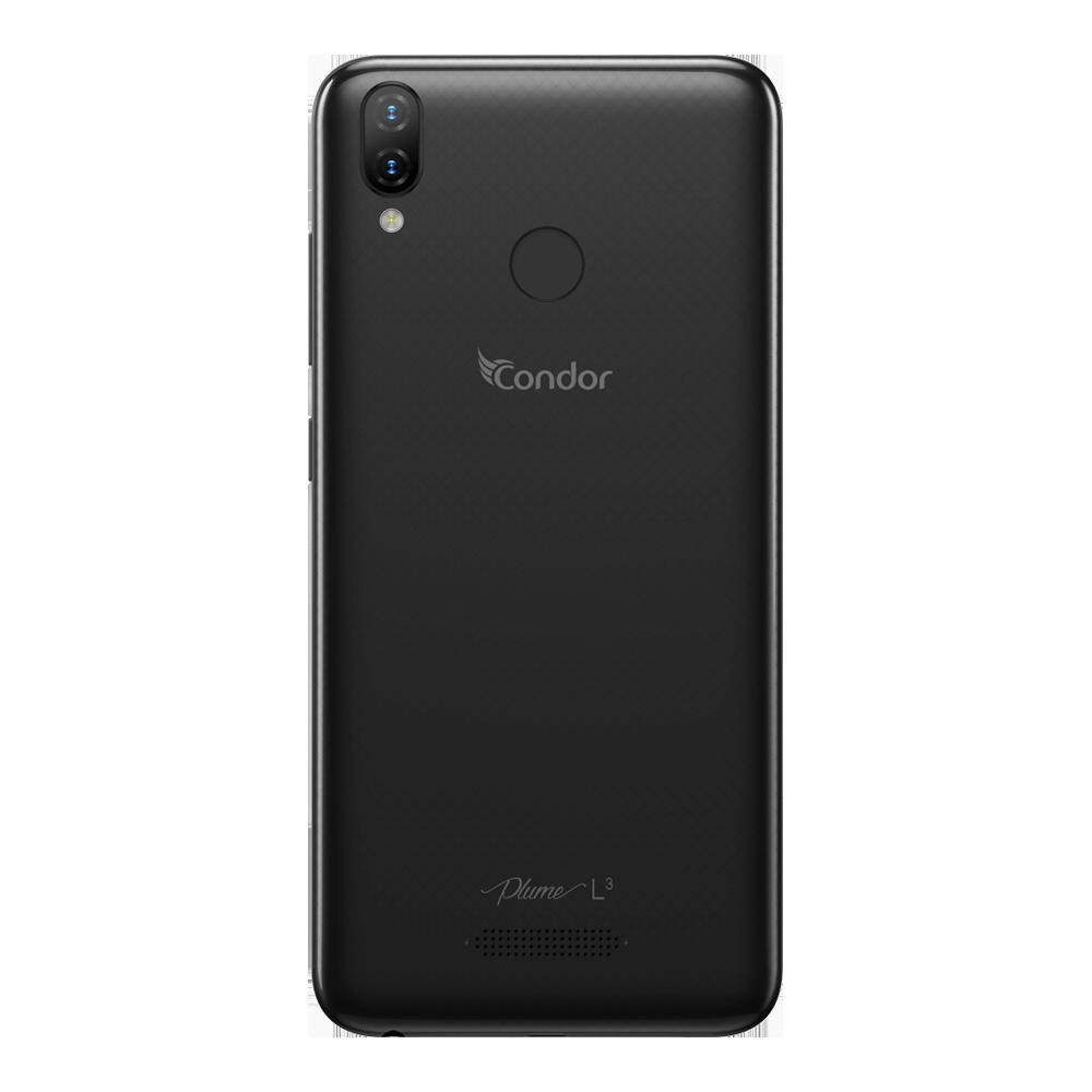 Condor Plume L3 DS Noir 32Go - Dos