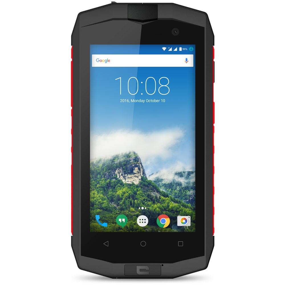 Crosscall Trekker M1 Core Anthracite Rouge - Face