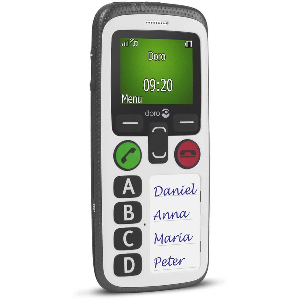 Doro Secure 580 IUP Noir et Blanc- Biais