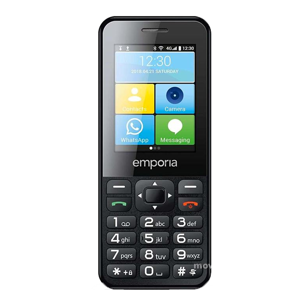 Emporia TalkSmart 4G Noir - Face