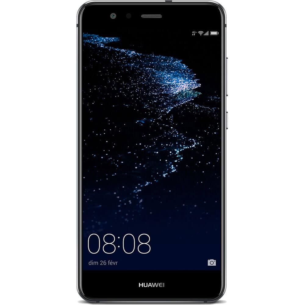 Huawei P10 Lite 2017 Noir - Face
