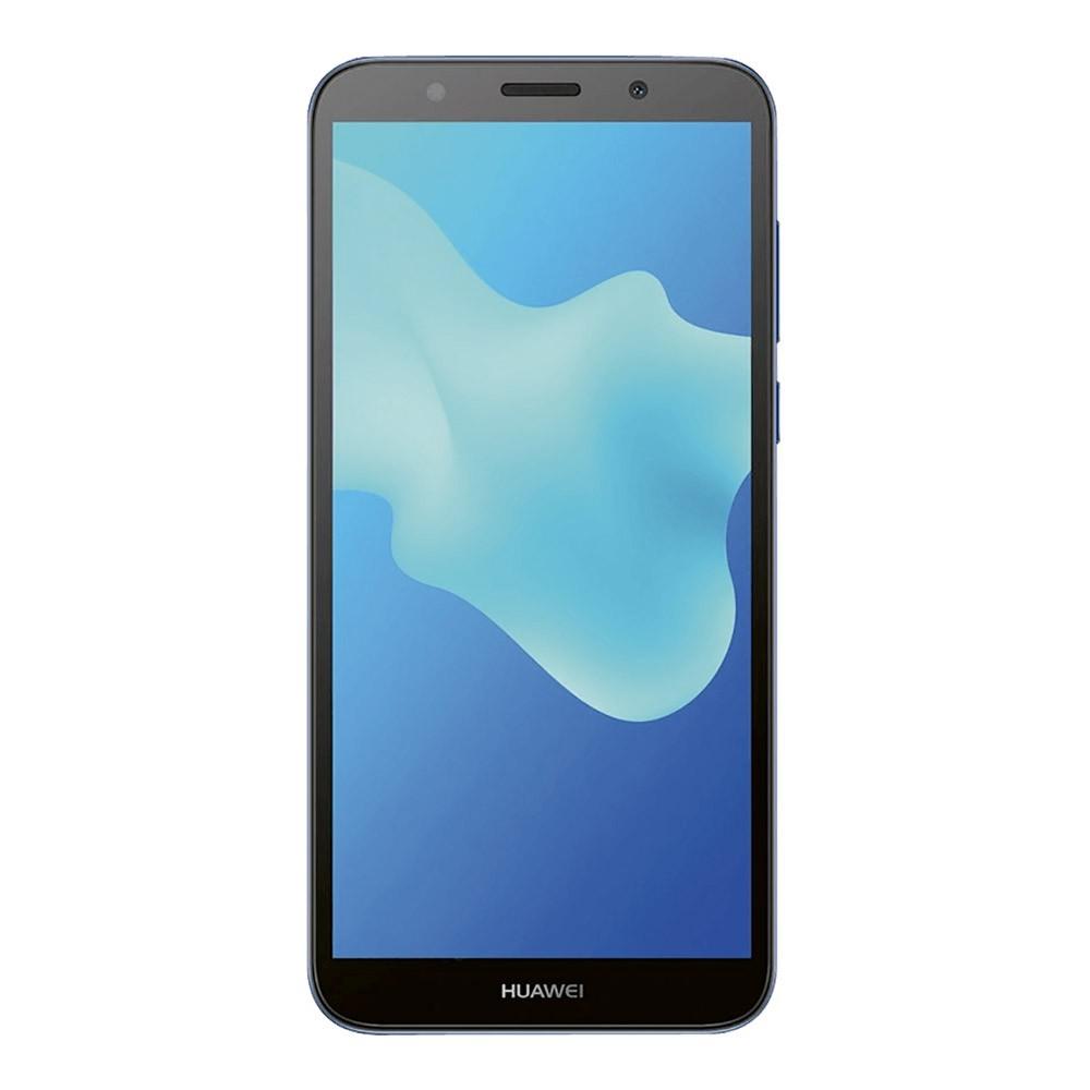Huawei Y5 2018 Bleu face
