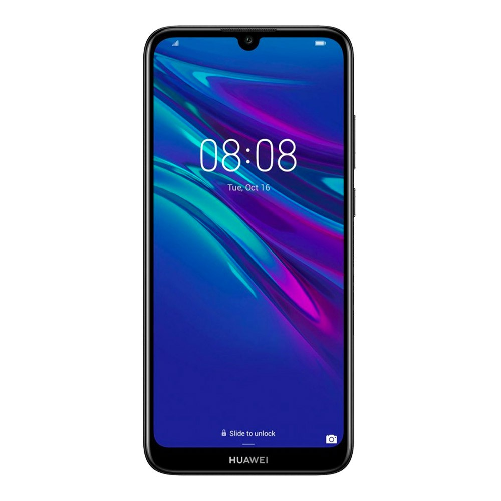 Huawei-Y6-2019-DS-Black-face