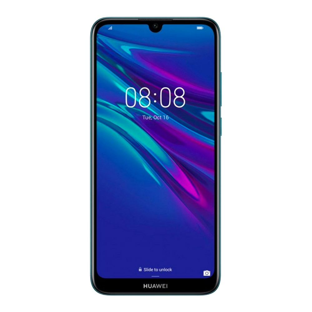 Huawei-Y6-2019-DS-Blue-face