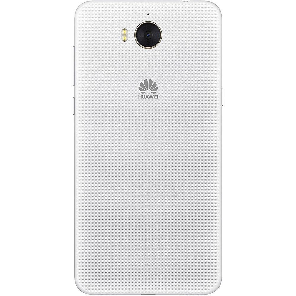 Huawei Y6 Blanc - Dos