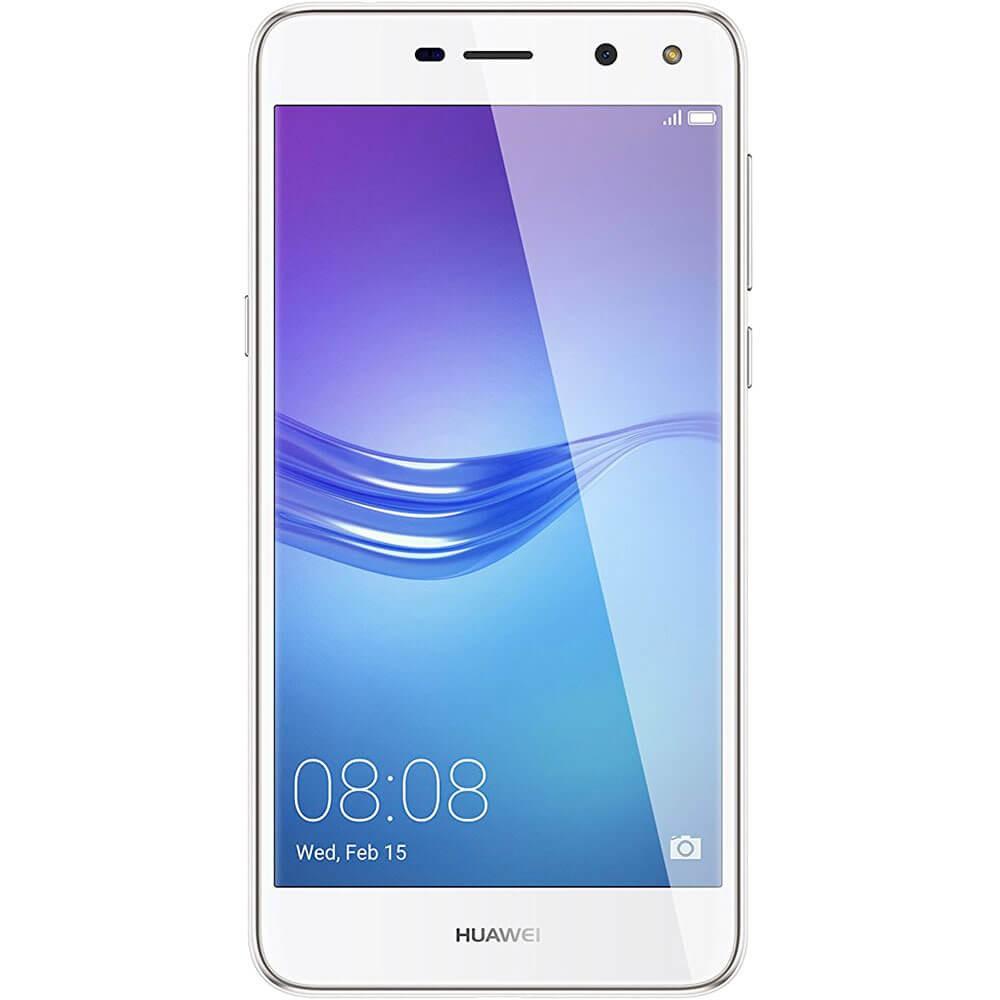 Huawei Y6 Blanc - Face