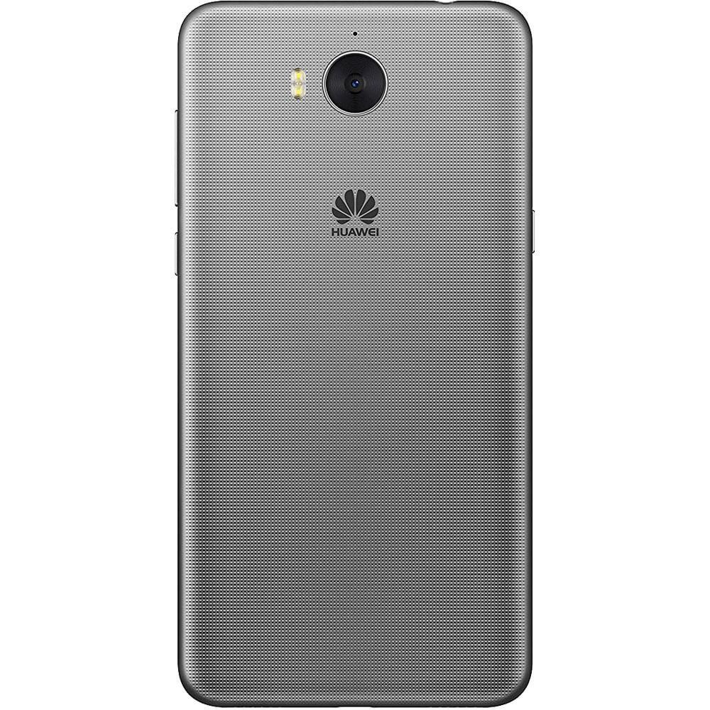 Huawei Y6 Gris - Dos