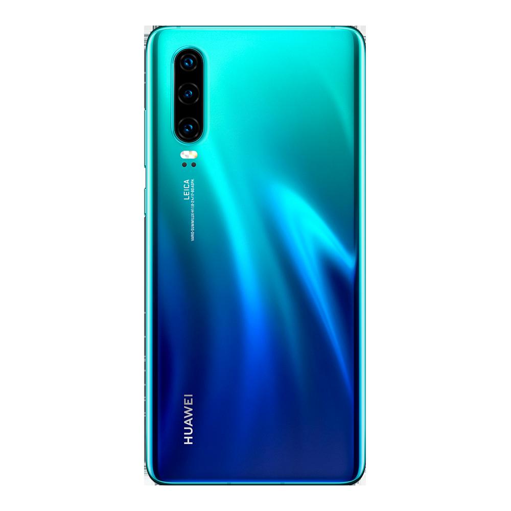 huawei-p30-bleu-aurora-128go-dos