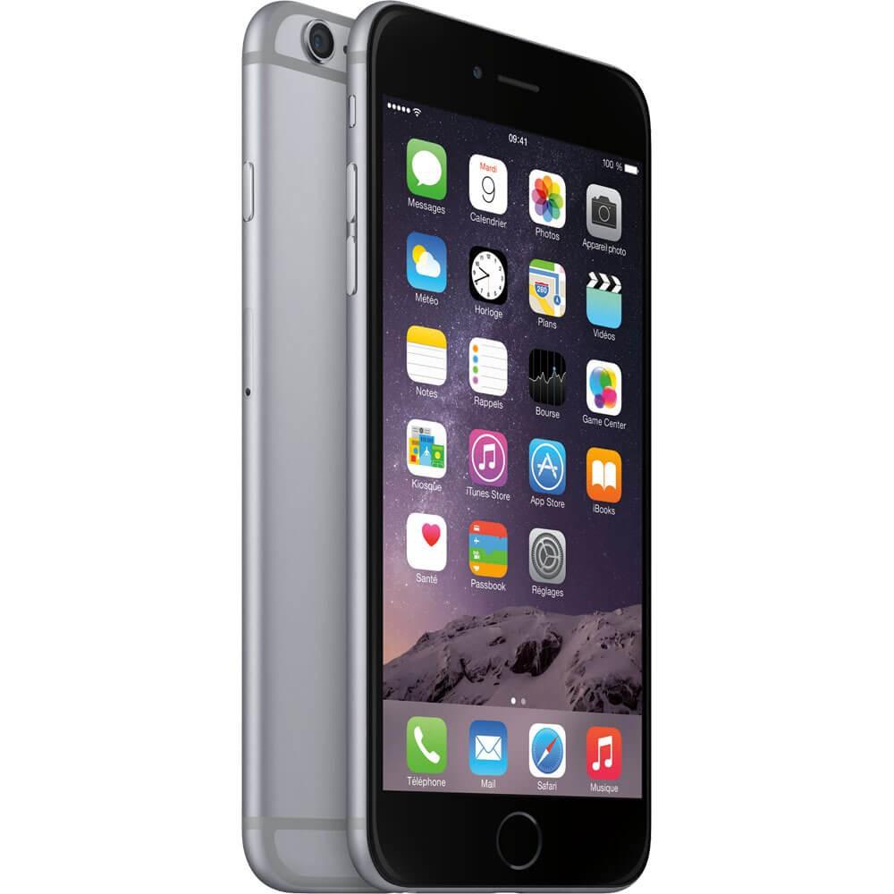 Apple iPhone 6 Plus 16Go Gris Sidéral - Profil