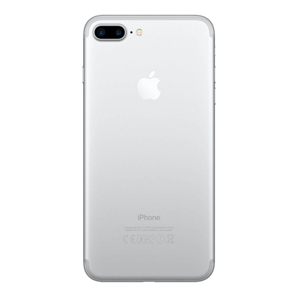 Apple iPhone 7 Plus 128 Go Argent - Dos