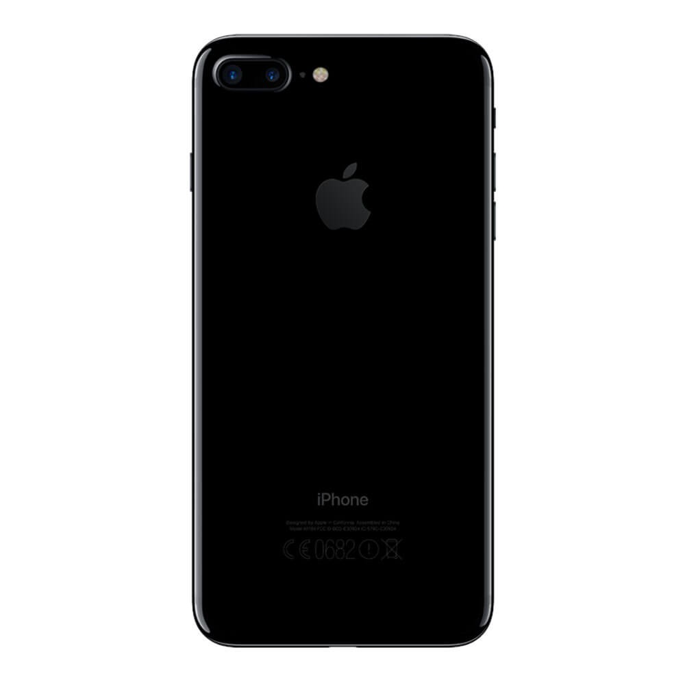 Apple iPhone 7 Plus 128 Go Noir de Jais - Dos
