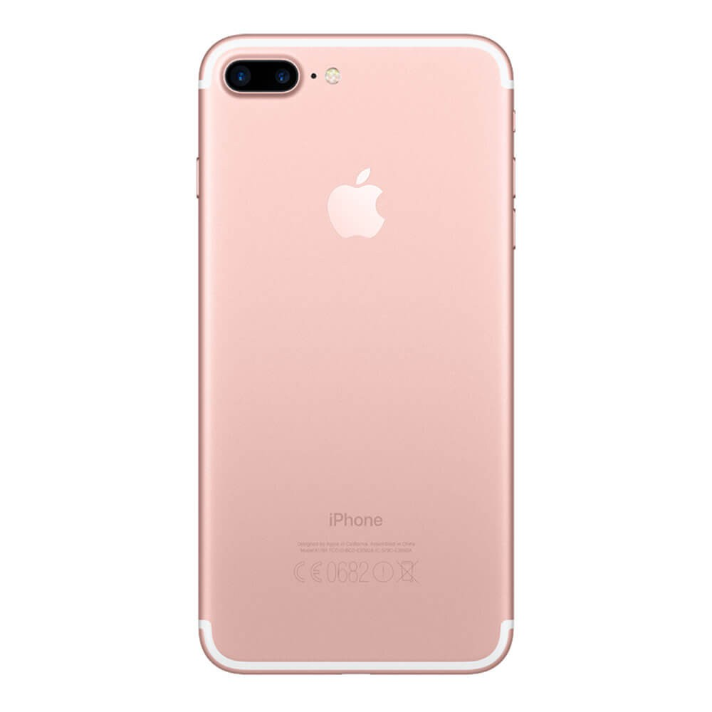 Apple iPhone 7 Plus 32 Go Or Rose - Dos