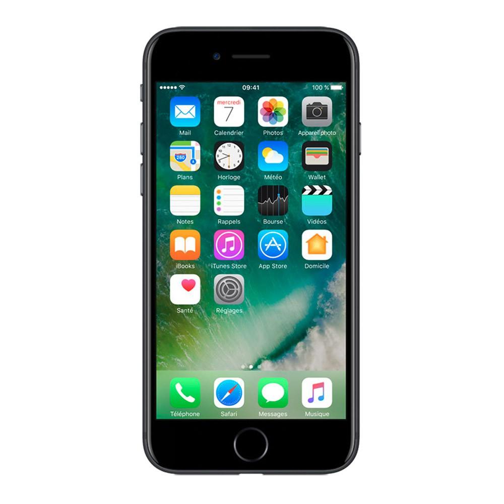 Iphone-7-Rec-32Go-Black-face