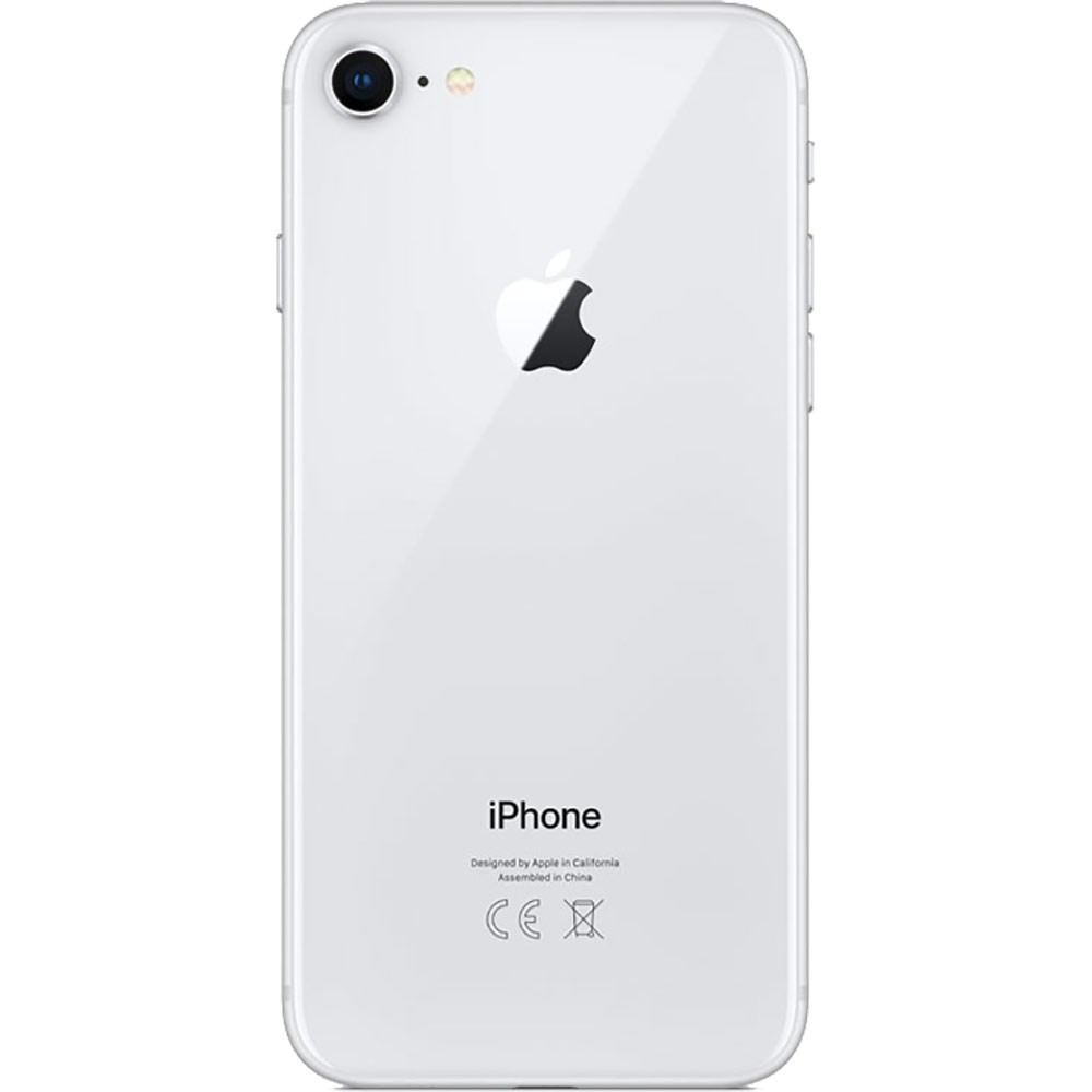 Apple Iphone 8 64Go Argent - dos