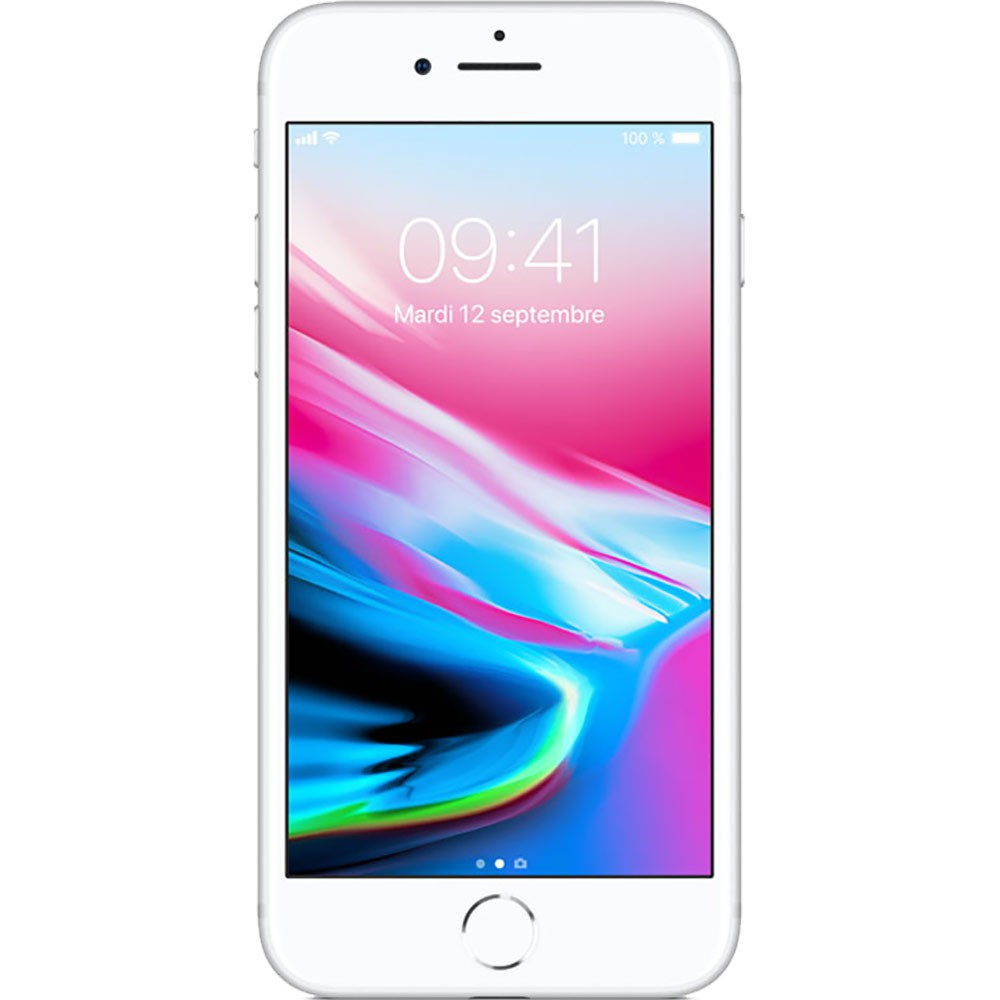 Apple Iphone 8 64Go Argent - face